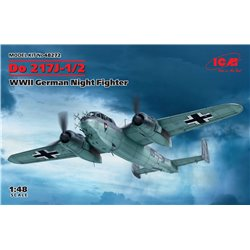 ICM 48272 1/48 Do 217J-1/2, WWII German Night Fighter