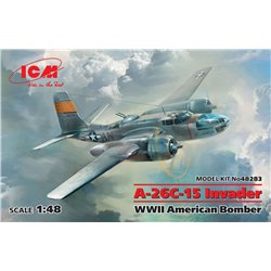 ICM 48283 1/48 A-26-15 Invader, WWII American Bomber
