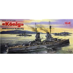 ICM S.001 1/350 König WWI german Battelship