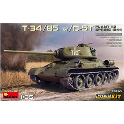 MINIART 35290 1/35 T-34/85 w/D-5T.