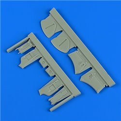 QUICKBOOST QB48889 1/48 Hawker Hunter undercarriage covers for Airfix