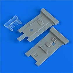 QUICKBOOST QB48911 1/48 Bristol Beaufighter cockpit´s doors for Revell