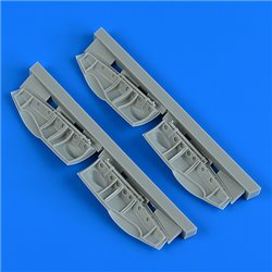 QUICKBOOST QB48912 1/48 Bristol Beaufighter undercarriage covers for Revell