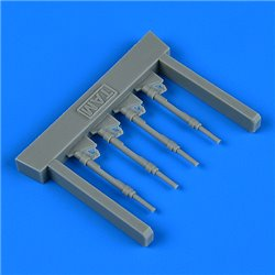 QUICKBOOST QB48917 1/48 Bf 109G-6 piston rods with undercarriage legs locks f. Tamiya