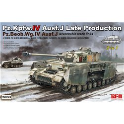 RYE FIELD MODEL RM-5033 1/35 Pz.Kpfw.IV Ausf.J Late Production