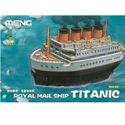 MENG MOE-001 Royal Mail Ship Titanic (CARTOON MODEL)