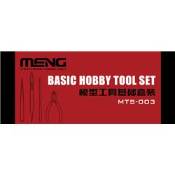 MENG MTS-003 Basic Hobby Tool set