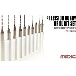 MENG MTS-023a Precision Hobby Drill Bit Set