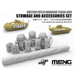MENG SPS-073 1/35 British FV510 Warrior TES(H) AIFV Stowage And Accessories Set (RESIN)