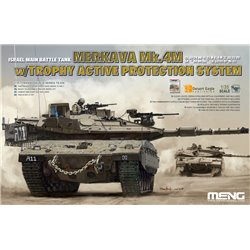 MENG TS-036 1/35 Israel Main Battle Tank merkava Mk.4M w/Trophy Active Protection System