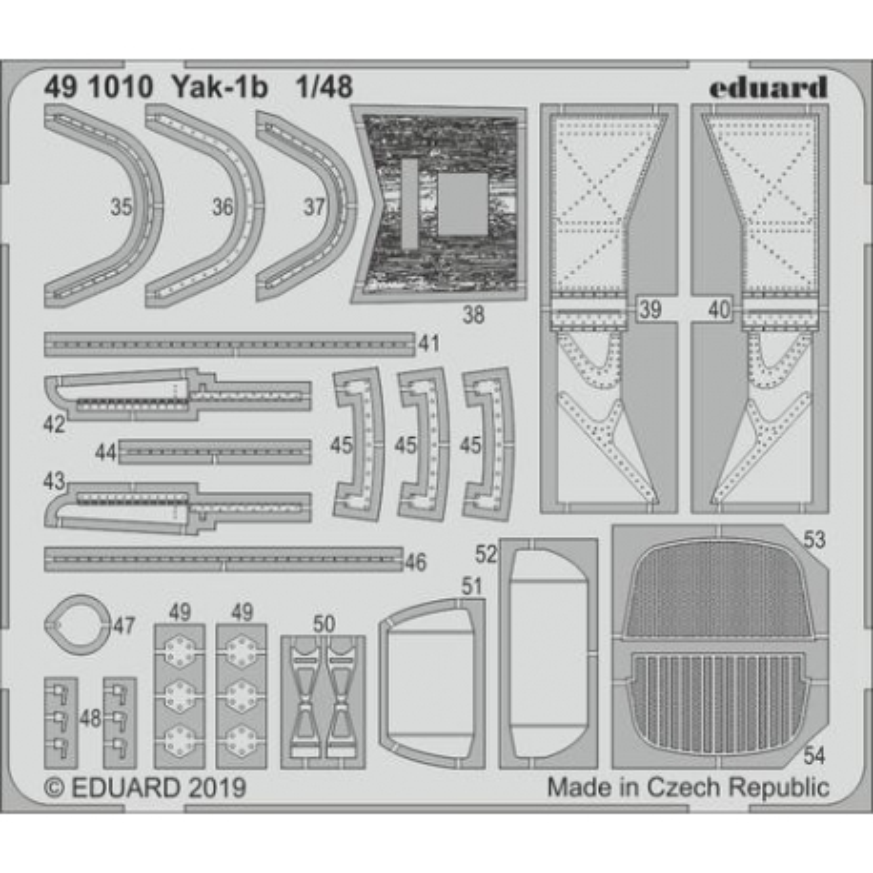 EDUARD 491010 1/48 Yak-1b