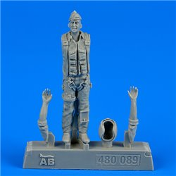 AEROBONUS 480.089 1/48 U.S.A.F. Fighter pilot-Vietnam War1960-7