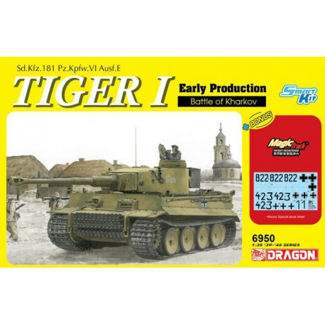 DRAGON 6950 1/35 Tiger I Early Production Battle of Kharkov