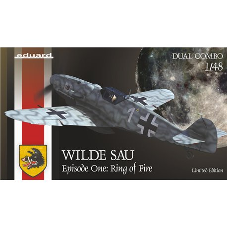 EDUARD 11140 1/48 WILDE SAU Epizode One: RING of FIRE