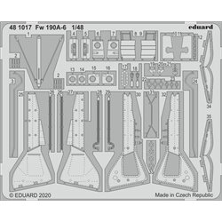 EDUARD 481017 1/48 Fw 190A-6