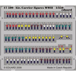EDUARD 17509 1/350 Air.Carrier Figures WWII