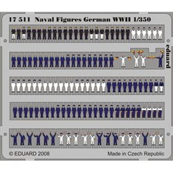 EDUARD 17511 1/350 Naval Figures German WWII