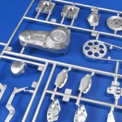 ABER D-08 1/32 Telegraph-pillar set for 2 cross bars with 4 insulators each