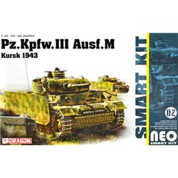 DRAGON 6521 1/35 Neo Smart Kit 02 Pz.Kpfw.III Ausf. M Kursk 1943