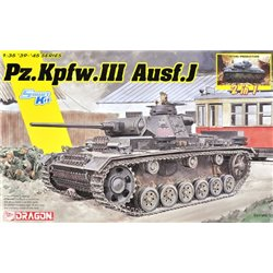 DRAGON 6954 1/35 Pz.Kpfw.III Ausf.J Initial Production / Early Production (2 in 1)