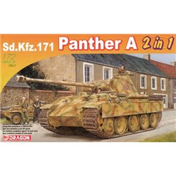 DRAGON 7546 1/72 Sd.Kfz.171 Panther A (2 in 1)