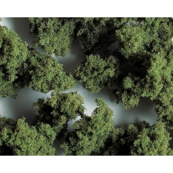 Faller 171554 HO 1/87 Flocons de terrain PREMIUM, grossiers, vert olive, 290 ml