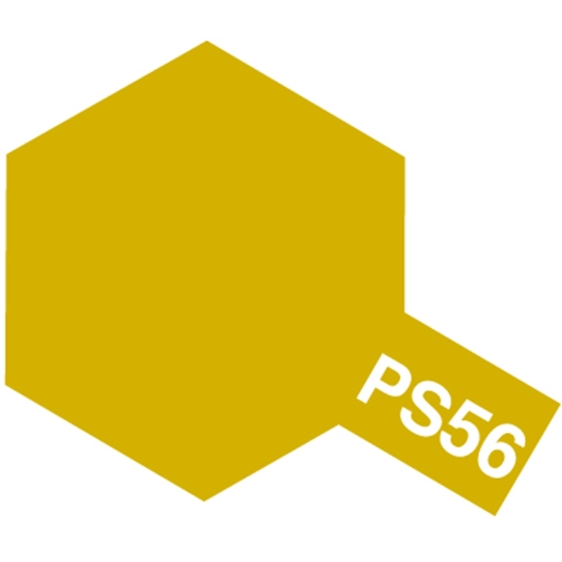 tamiya 86056 peinture bombe spray ps 56 jaune moutarde mustard yellow passion132. Black Bedroom Furniture Sets. Home Design Ideas