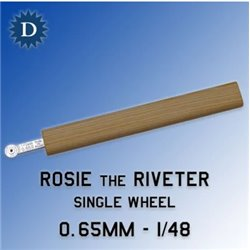 ROSIE THE RIVETER 065 0.65mm Single Wheel (1/48)