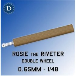 ROSIE THE RIVETER 065D 0.65mm Double Wheel