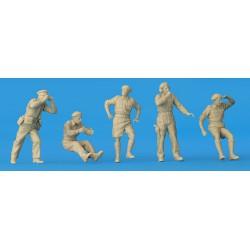 Preiser 10710 Figurines HO 1/87 Voyageurs sur le quai de la gare
