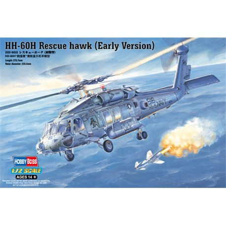 HOBBY BOSS 87234 1/72 HH-60H Rescue hawk (Early Version)