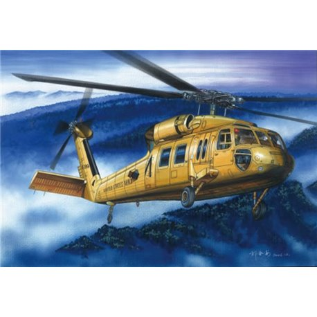 HOBBY BOSS 87216 1/72 American UH-60A ''Blackhawk'' helicopter