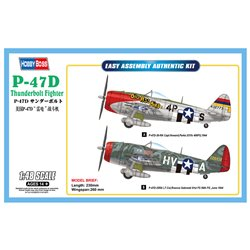 HOBBY BOSS 85804 1/48 P-47D Thunderbolt Fighter