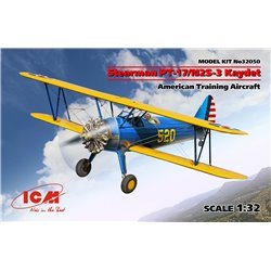 ICM 32050 /132 Stearman PT-17/N2S-3 Kaydet American Training Aircraft