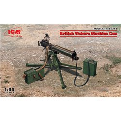 ICM 35712 1/35 British Vickers Machine Gun