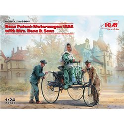 ICM 24041 /1/24 Benz Patent-Motorwagen 1886 with Mrs. Benz & Sons