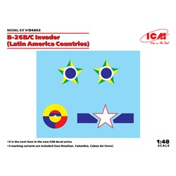 ICM D4803 1/48 B-26B/C Invader (Latin America Countries)