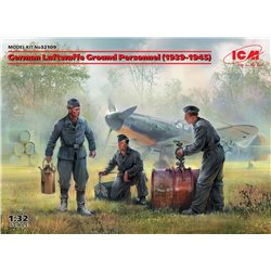 ICM 32109 1/32 German Luftwaffe Ground Personnel (1939-1945)