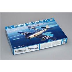TRUMPETER 02844 1/48 Hawker Sea Fury FB.11