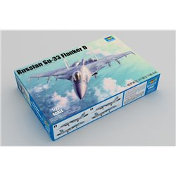 TRUMPETER 01667 1/72 Russian Su-33 Flanker D