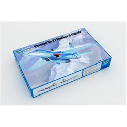 TRUMPETER 01660 1/72 Russian Su-27 Flanker B Fighter