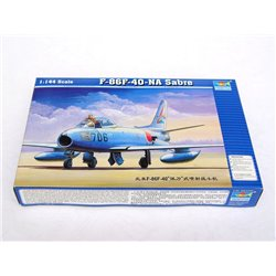 TRUMPETER 01321 1/144 North American F-86 F-40 Sabre