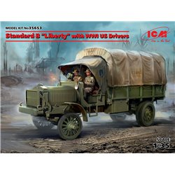 ICM 35653 1/35 Standard B Liberty with WWI US Drivers