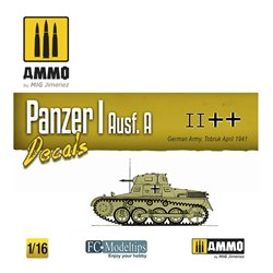 AMMO BY MIG A.MIG-8060 PANZER I AUSF. A. DECALS 1/16