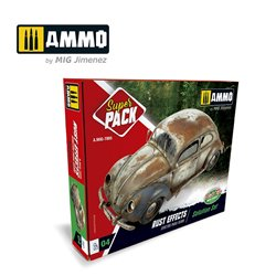 AMMO BY MIG A.MIG-7805 RUST EFFECTS. SOLUTION SET