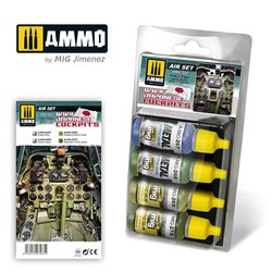 AMMO BY MIG A.MIG-7233 WWII JAPANESE COCKPITS SET 4x17ml