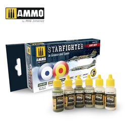 AMMO BY MIG A.MIG-7232 SET F-104G STARFIGHTER (GREECE & SPAIN) 4x17ml