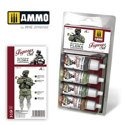 AMMO BY MIG A.MIG-7031 RUSSIAN FLORA UNIFORMS. FIGURES SET 4x17ml