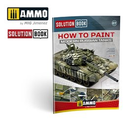 AMMO BY MIG A.MIG-6518 SOLUTION BOOK HOW TO PAINT MODERN RUSSIAN TANKS (Multilingual)