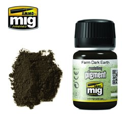 AMMO BY MIG A.MIG-3027 Pigment Terre Agricole Foncée35ml
